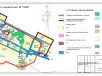 Состав земель населенных пунктов и зонирование территорий