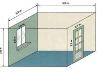 Какая стандартная высота потолков в квартире